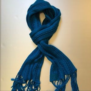 Knitted rectangular stole / scarf / wrap